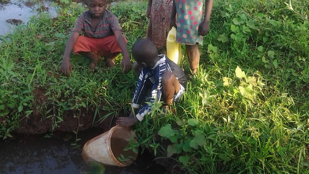 How we used to get water
