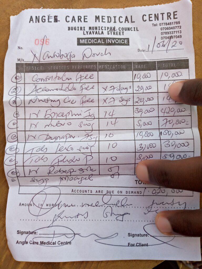 Case of illness in one of our girls / Krankheitsfall bei einem unserer Mädchen