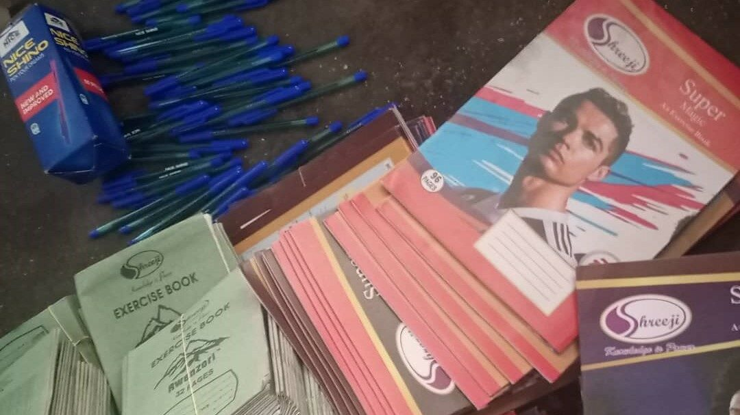Donation for school supplies