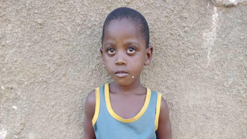 Orphan Paul Sebindukyi