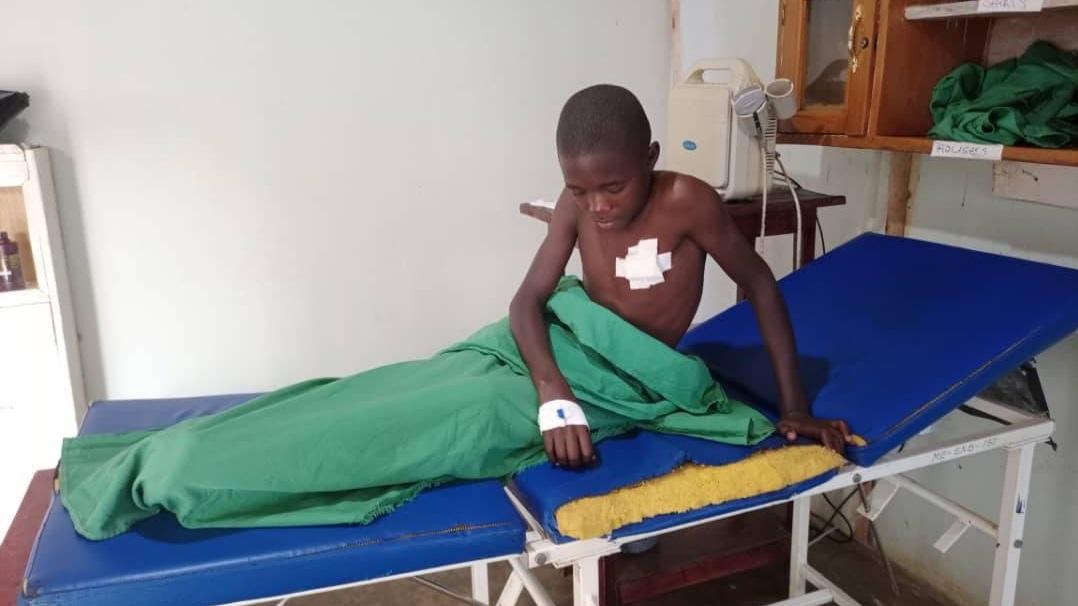 Updates and good News: YUSUF M. – hospital treatment
