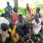Fire wood activity - One day at Orphans of Uganda Children Center